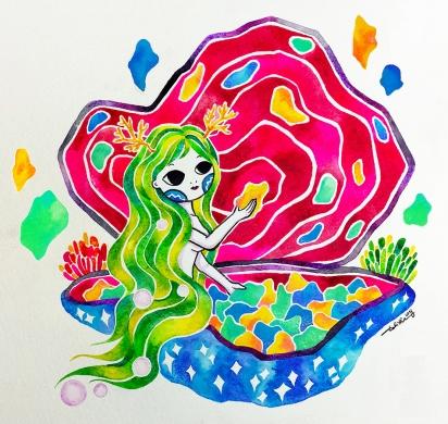 M E M O R I E S Watercolor on paper.