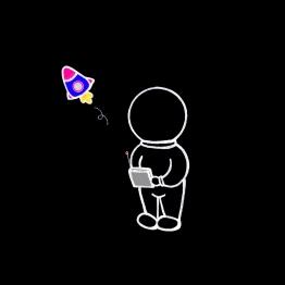 Playing rocket.