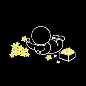 Stacking stars.